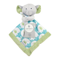 Carter's Elephant Security Blanket with Plush
