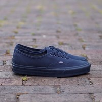 GE AUGUAU Vans Authentic  Mono Surplus  Dress Blue