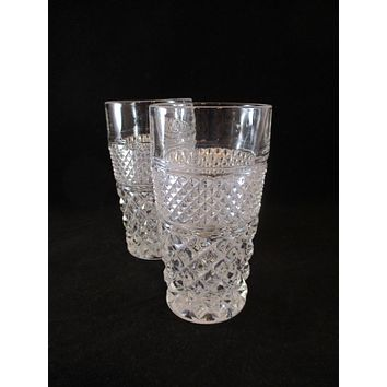 Anchor Hocking Wexford Tumblers  S/2