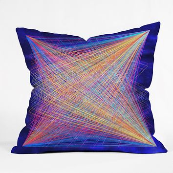 Fimbis Veer Throw Pillow