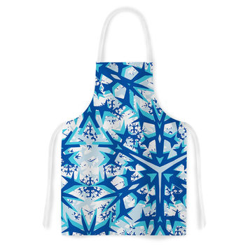 "Miranda Mol ""Winter Mountains"" Artistic Apron"