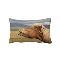Icelandic horse Pillow from Zazzle.com