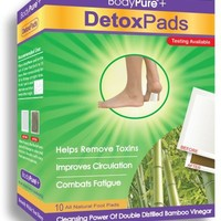 Bodypure Detox Foot Patches, 10-Count Box
