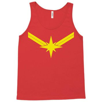 captain marvel Tank Top