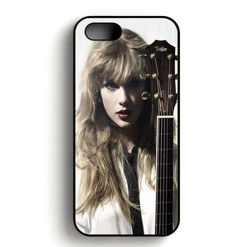 Taylor Swift Photoshoot iPhone 5, iPhone 5s and iPhone 5S Gold case