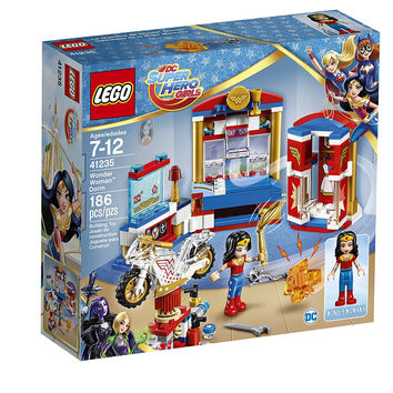 LEGO DC Super Hero Girls Wonder Woman Dorm and Motorcycle 41235