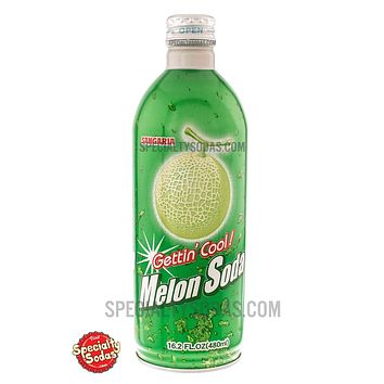 Sangaria Melon Soda 480ml Aluminum Bottle Can