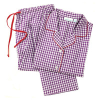 Porter Long Sleeve Pajamas, Purple/Red, Pajamas