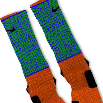Gator Skin Custom Nike Elite Socks