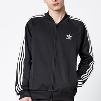 adidas Superstar Black and White Track Jacket at PacSun.com