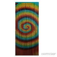 Bamboo Tie Dye Swirl Door Beads on Sale for $39.99 at HippieShop.com