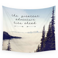 Society6 The Greatest Adventure- Mountains Wall Tapestry
