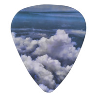 Clouds From a Plane Guitar Pick