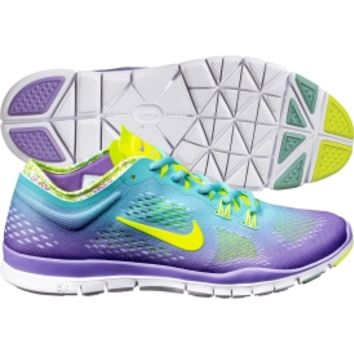 Nike Women's Free 5.0 TR FIT PRT 4 Training Shoe - Jade/Volt | DICK'S Sporting Goods
