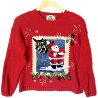 Photo of Santa Tacky Ugly Christmas Sweater