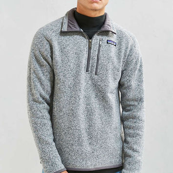 Patagonia Better Sweater 1/4-Zip Sweatshirt - Urban Outfitters