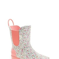 Girl's TOMS 'Ditsy - Youth' Rain Boot