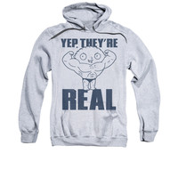 FAMILY GUY REAL BUILD Adult Fleece Pull Over Hoodie