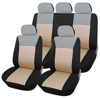 Furnistar 9-Piece Car Vehicle Protective Seat Covers CV0144-B