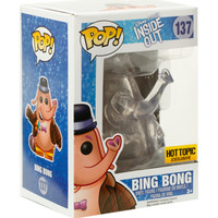 Funko Disney Inside Out Pop! Clear Bing Bong Vinyl Figure Hot Topic Exclusive