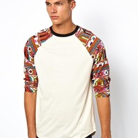 Altamont 3/4 Sleeve Top Sura Raglan at asos.com