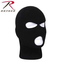 Fine Knit Three Hole Facemask