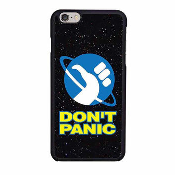 hitchhikers guide to the galaxy dont panic s5 iphone 6 6s 4 4s 5 5s 6 plus cases