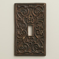 Scroll Print Switch Plate Cover - World Market