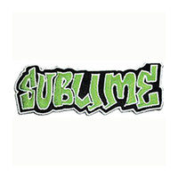 Sublime Men's Embroidered Patch Green