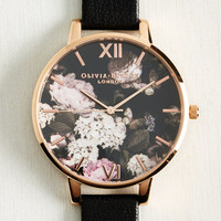 Half Past Bloom Watch in Rose Gold | Mod Retro Vintage Watches | ModCloth.com