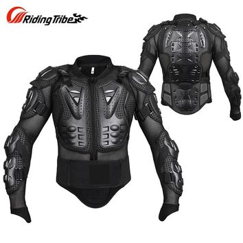 Trendy Protective Gear Motorcycle Armor Protector Motocross Off-Road Chest Body Armour P1429 Protection Jacket Vest Clothing AT_94_13