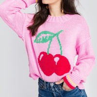 Cherries Charlotte Sweater
