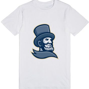 Abraham Lincoln Head Mascot | T-Shirt | SKREENED