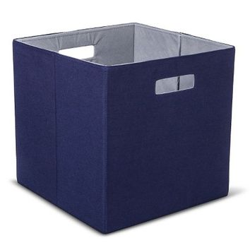 Threshold Fabric Cube Storage Bin - Patterned - Assorted Colors - 13""