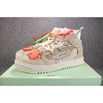 OFF-White C/O VIRGIL ABLOH 18SS Low 3.0 SB Sneakers