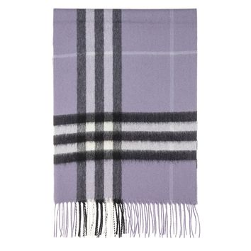 Burberry Women's Classic Check Scarf Lilac