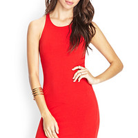 Racerfront Knit Dress