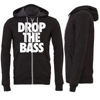 Drop The Bass Zipper Hoodie