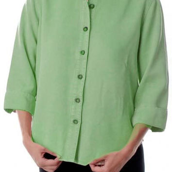 Tencel Shirt - 3/4 sleeve