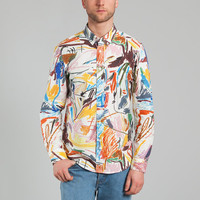 Etudes/Hixsept Multicolor Robon Cameron Shirt on sale at L'Exception