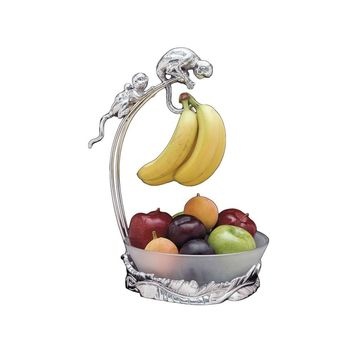 Monkey Banana Holder with Bowl