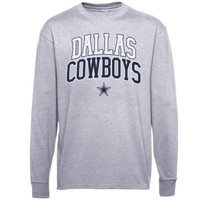 Mens Dallas Cowboys Gray Pro Set 2 T-Shirt