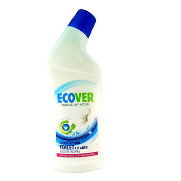 Ecover Toilet Cleaner Ocean Waves 750ml. Bottle - Plastic - Widely Recycled; Cap