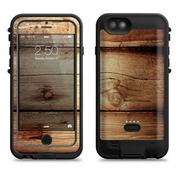 The Old Bolted Wooden Planks  iPhone 6/6s Plus LifeProof Fre POWER Case Skin Kit