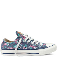 Converse - Chuck Taylor Floral - Low - Dark Denim