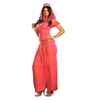 Dreamgirl Womens Genie May K. Wish Halloween Party Costume Set