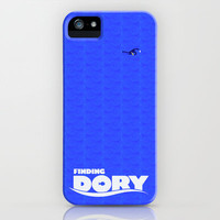 Finding Dory Minimal Movie Poster iPhone Case by Bluebird Design
