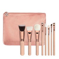 Pink Brush Tools Make-up Brush Set [20536590348]