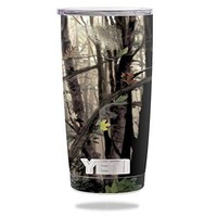 Protective Vinyl Skin Decal for YETI 20 oz Rambler Tumbler wrap cover sticker skins Tree Camo DECAL ONLY