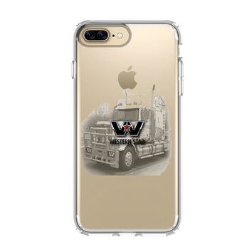 WESTERN STAR TRUCKS iPhone and Samsung Galaxy Clear Case